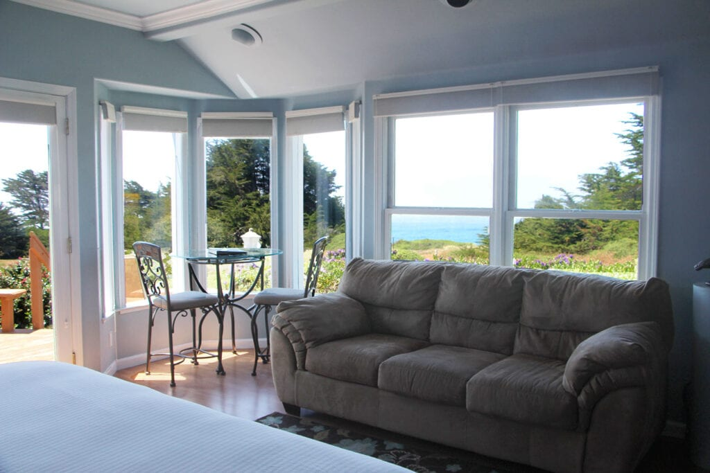 Special Occasion Suite at Mendocino Seaside Cottages