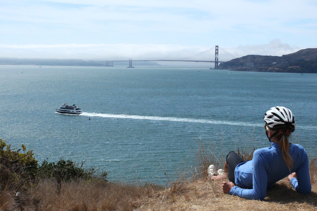 View from Angel Island State Park