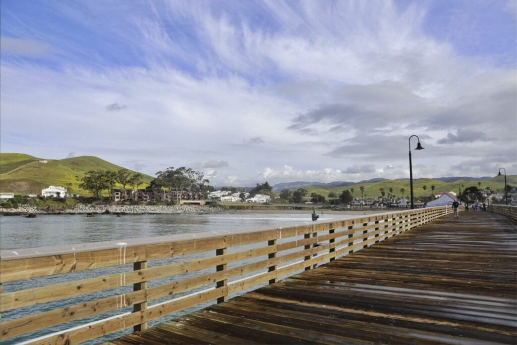 View from the Cayucos Pier