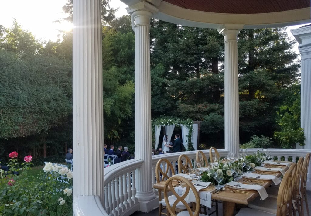 Wedding at Churchill Manor