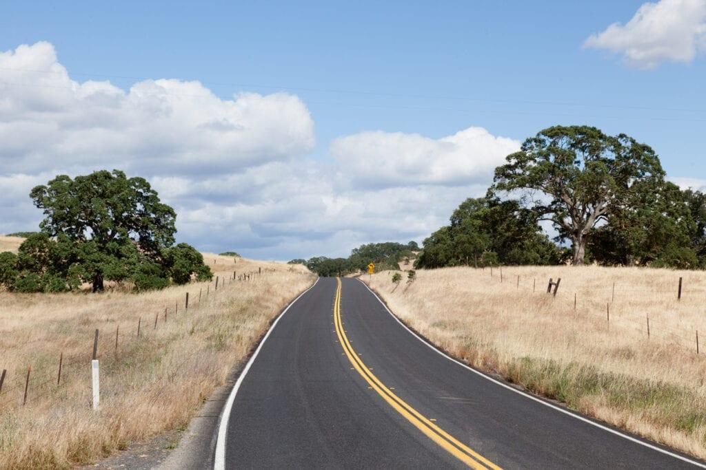 Highway 49 near Mariposa