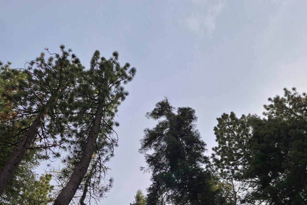 Skies above Donner Lake Inn