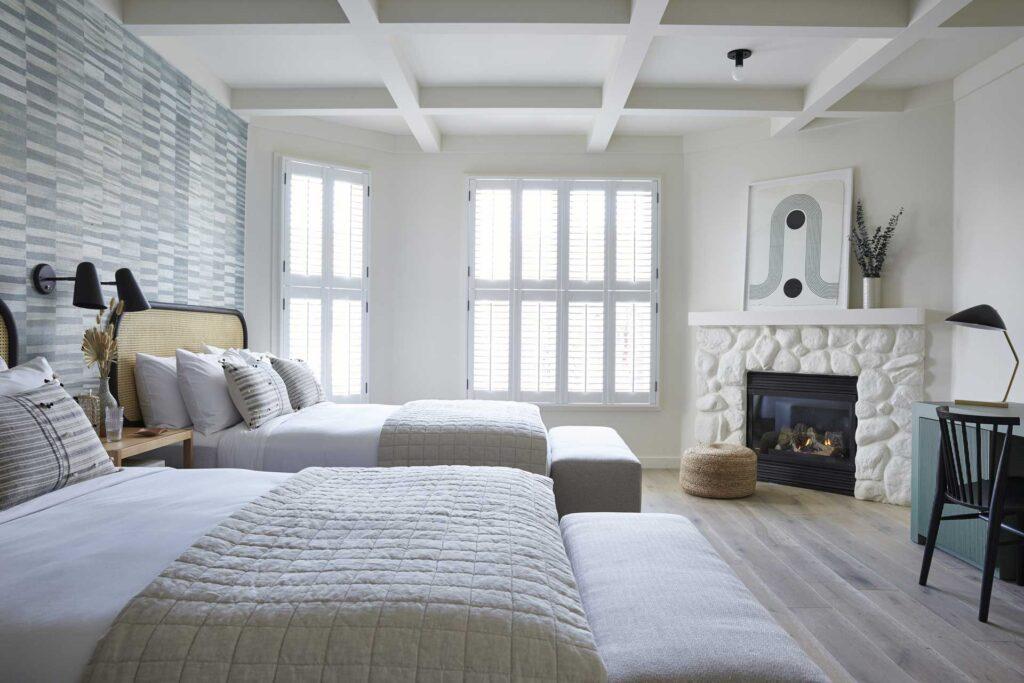 San Luis Creek Lodge double queen guest room