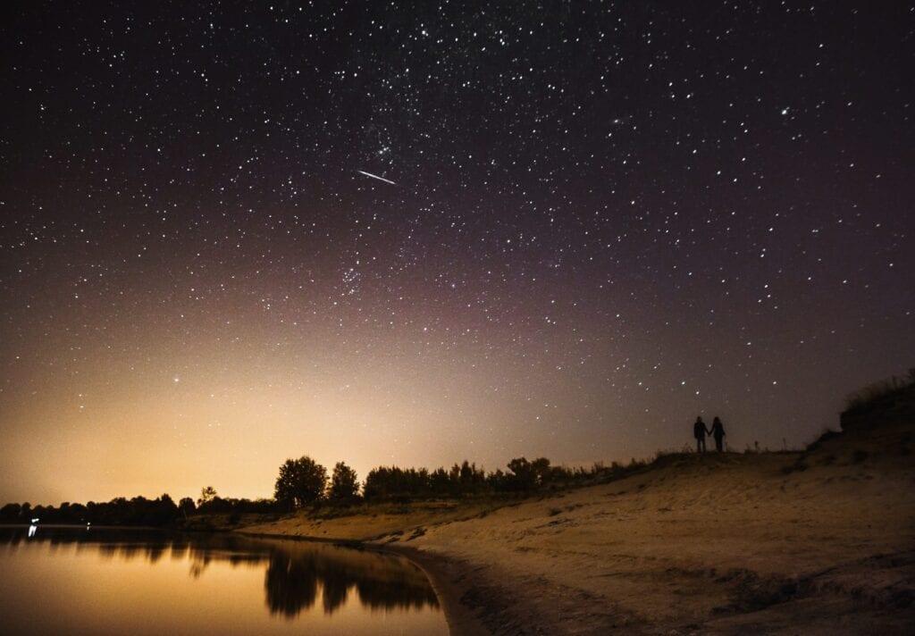 Nighttime skies at Eden Vale Inn