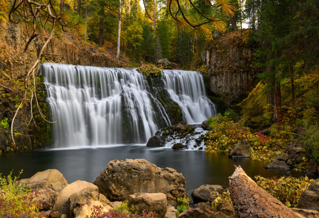 Middle falls on McCloud River