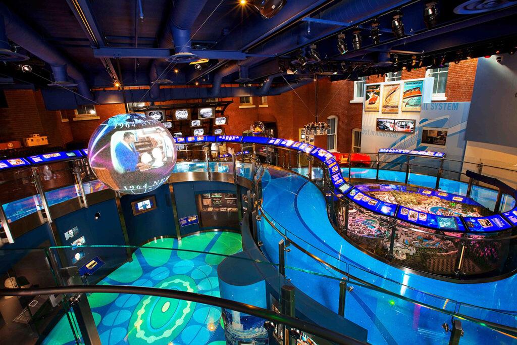 Walt Disney Family Museum gallery exhibits